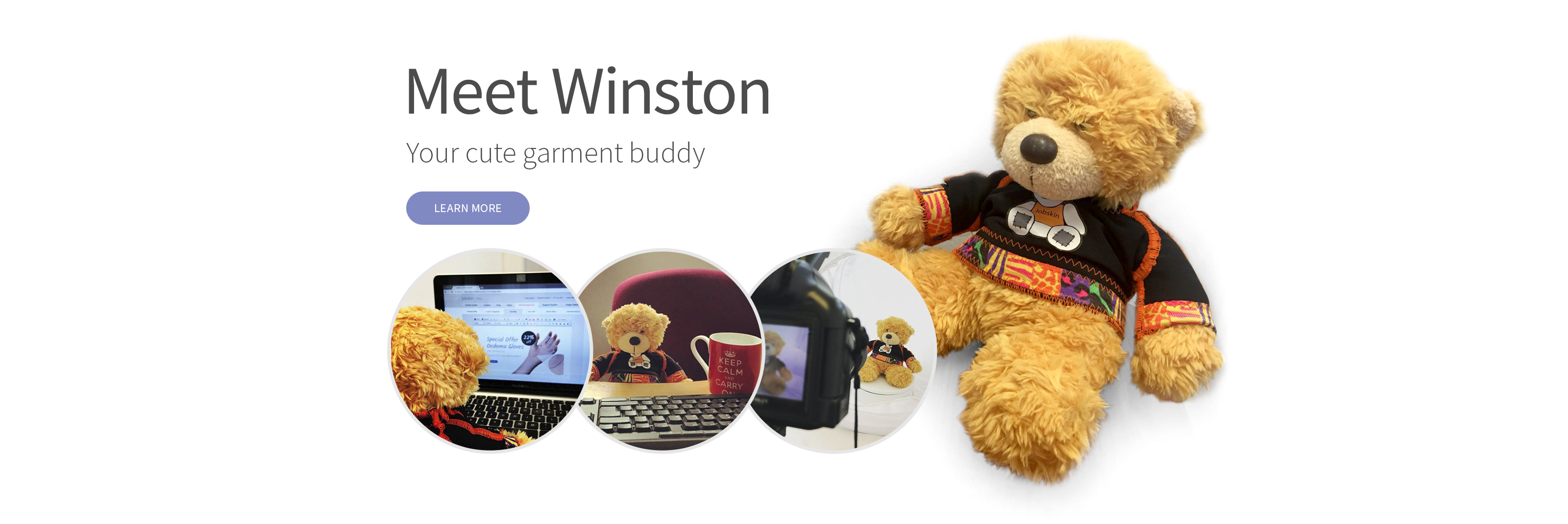Meet Winston — Your cure garment buddy