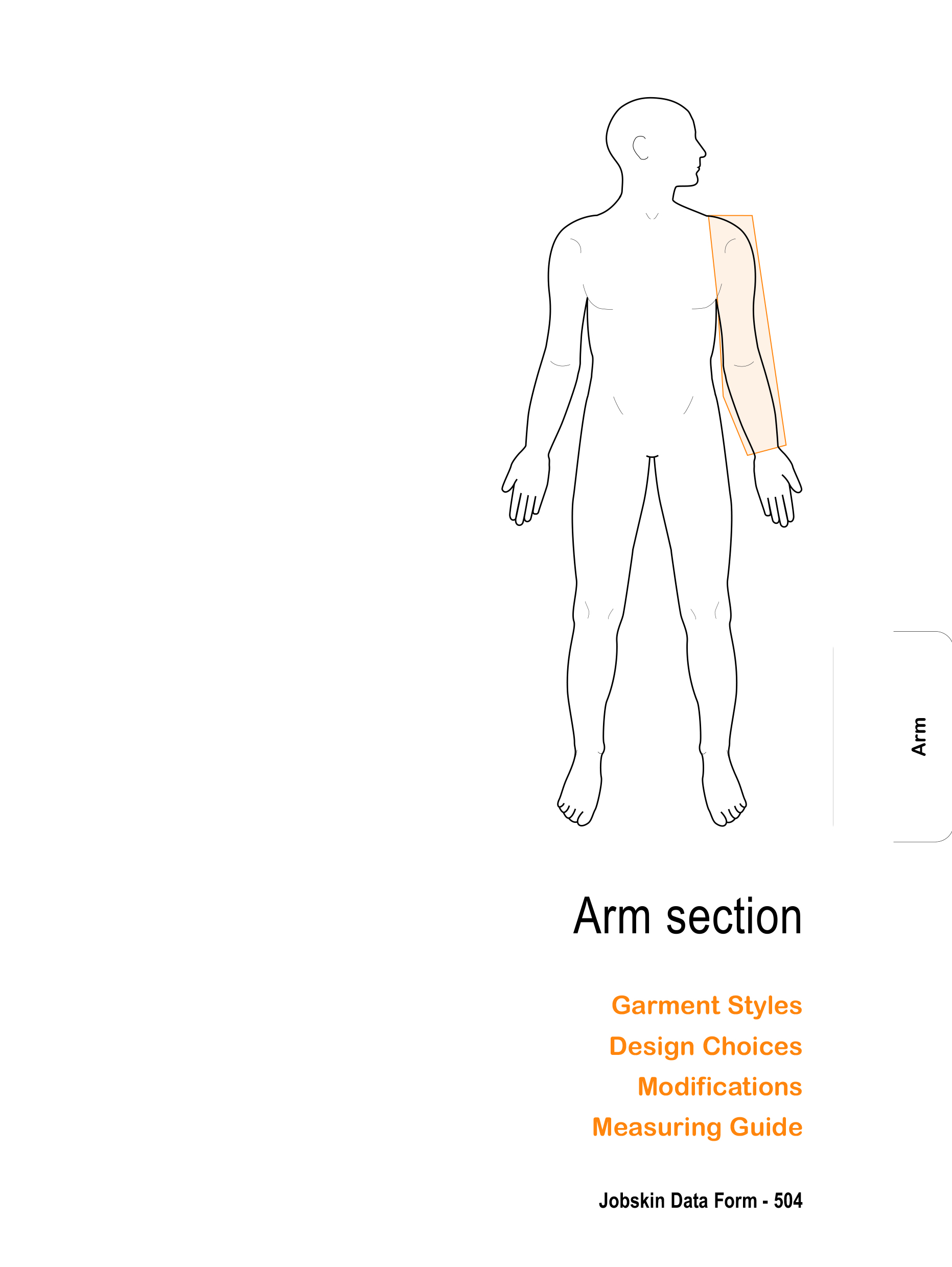 Arm how to measure section