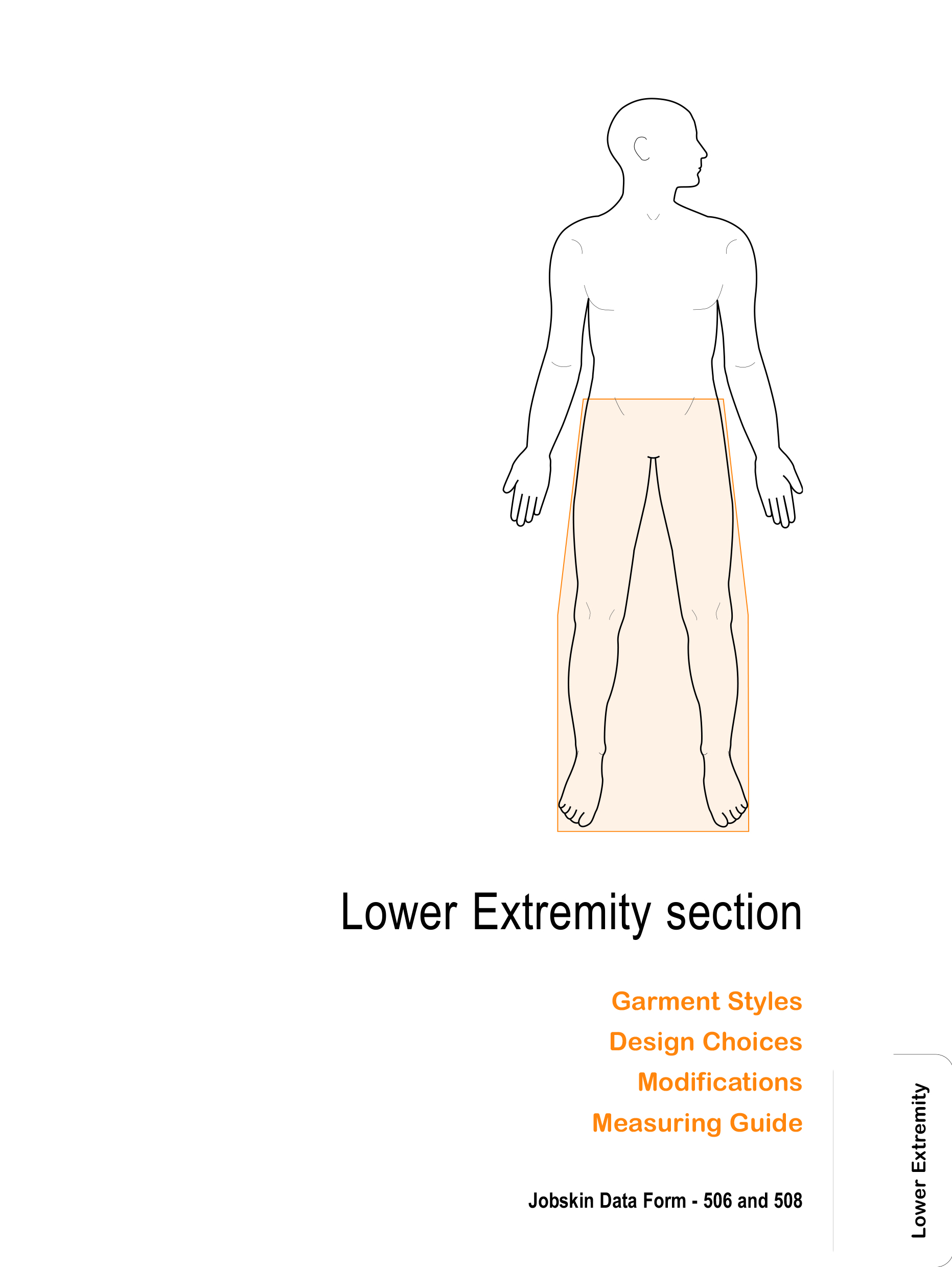 Lower extremity how to measure section