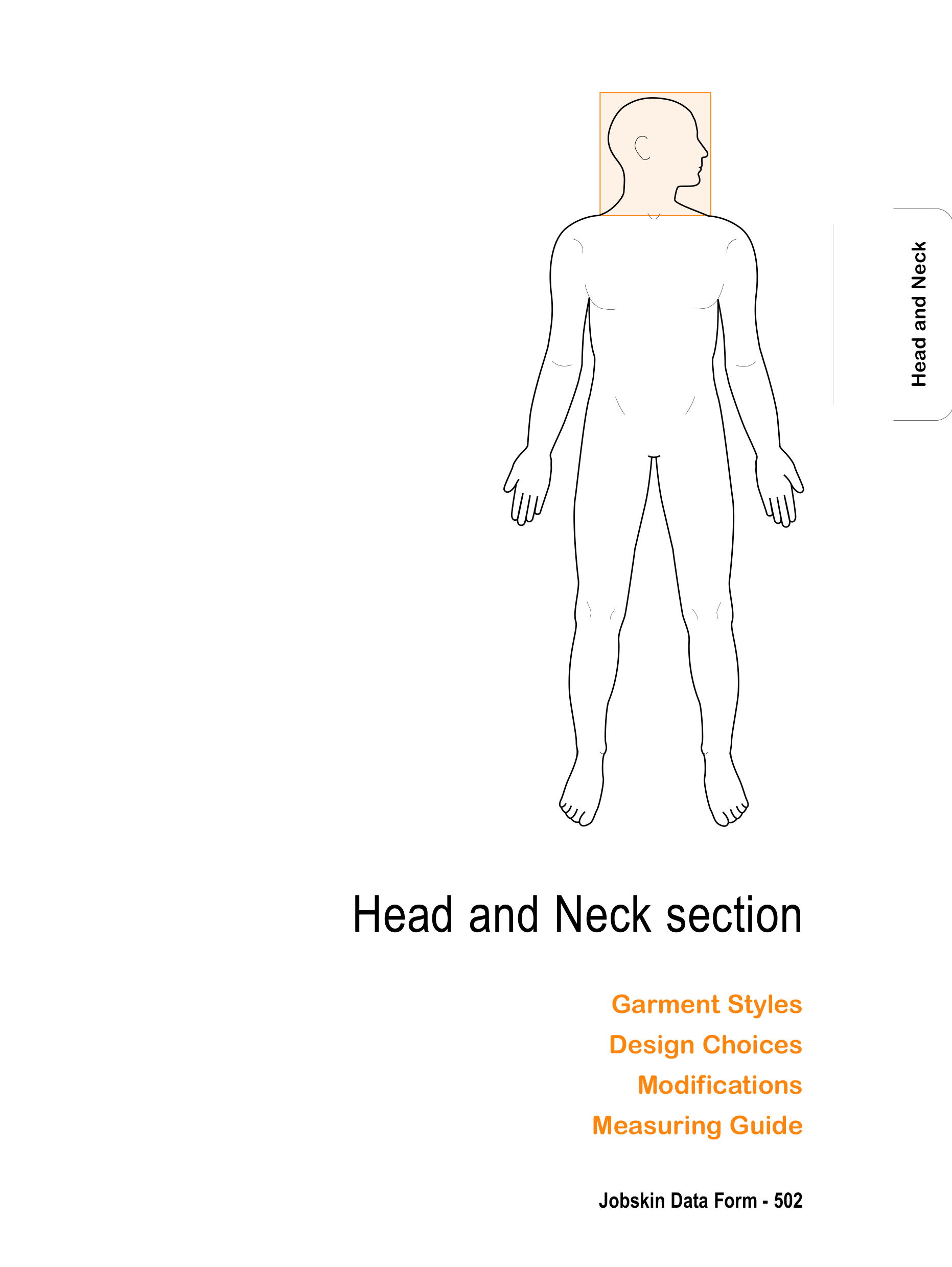 Head and neck how to measure section