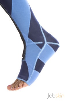 SDO Sock Blue side view