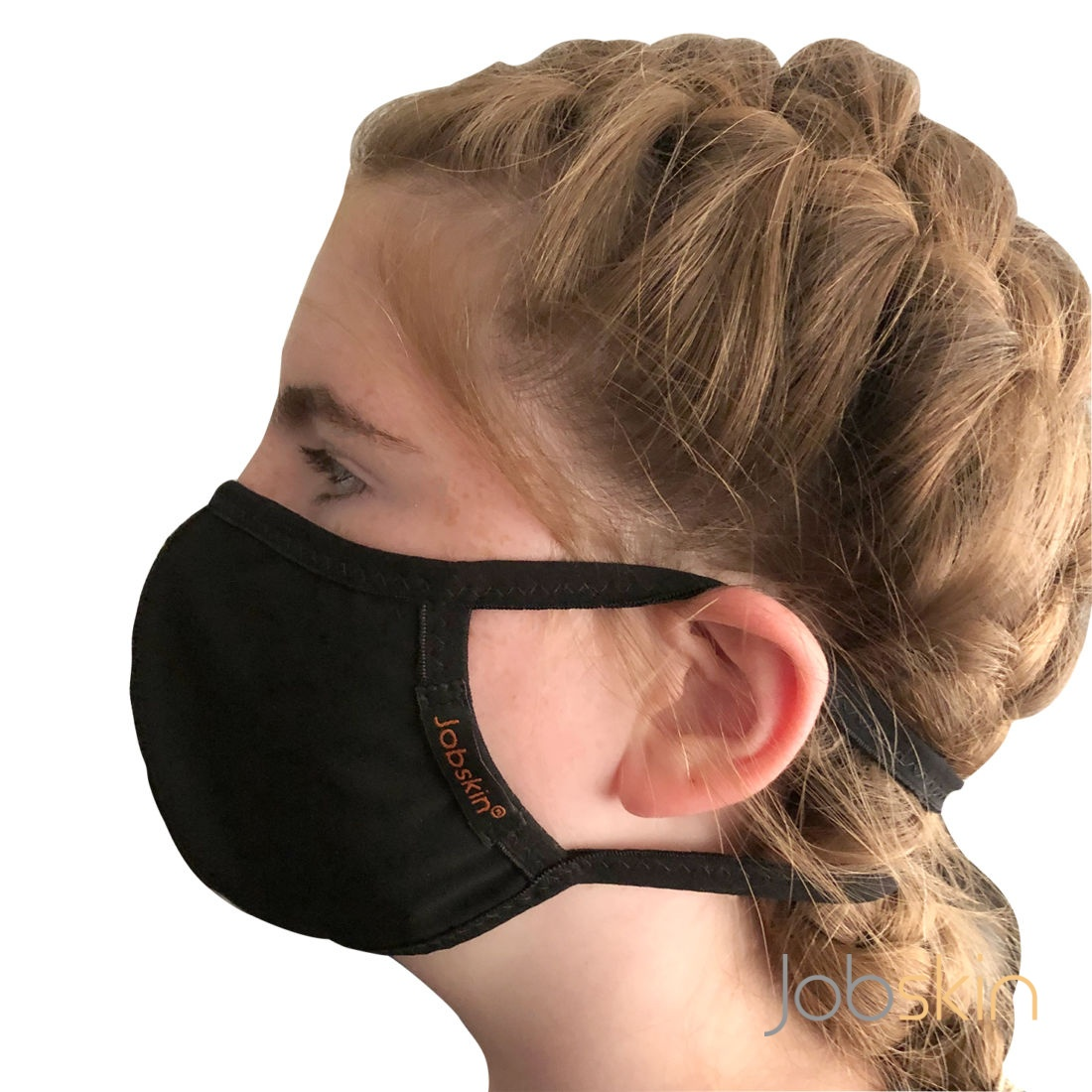 Black Powernet face mask